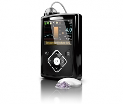 MiniMed 640G insulin pump and CGM system